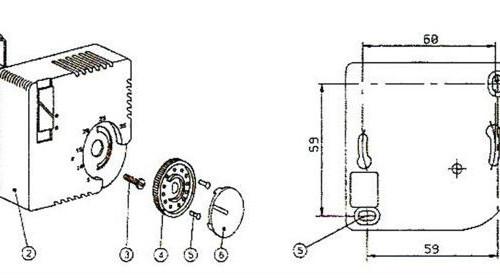 Схема монтажа терморегулятора 7000В