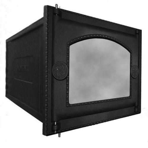 Духовка печная чугунная со стеклом ДП-ДТ-6АС