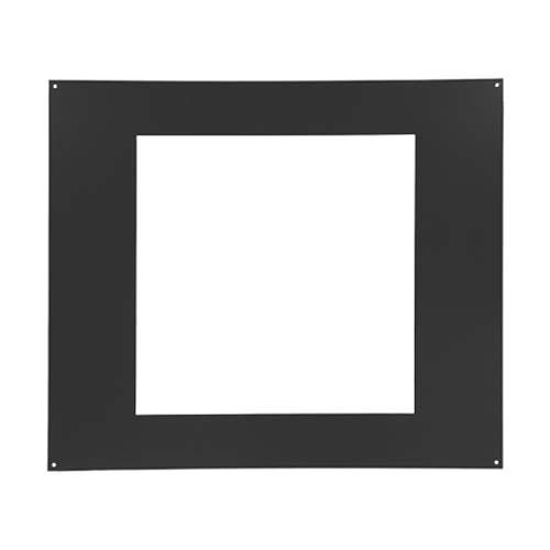 Фон для каминной дверцы металл НТТ 445, к дверце 410х410 ЧЕРНЫЙ