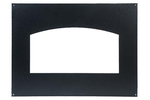 Фон для каминной дверцы  металл НТТ 535, к дверце  НТТ 531,631 ЧЕРНЫЙ