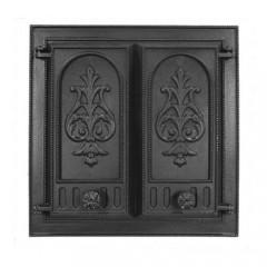 Каминная дверца НТТ 115 чугунная, сплошная