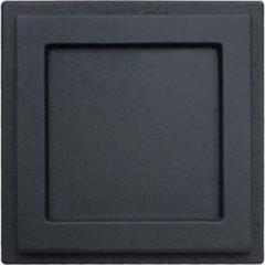 Зольная заслонка чугунная НТТ 605 черная