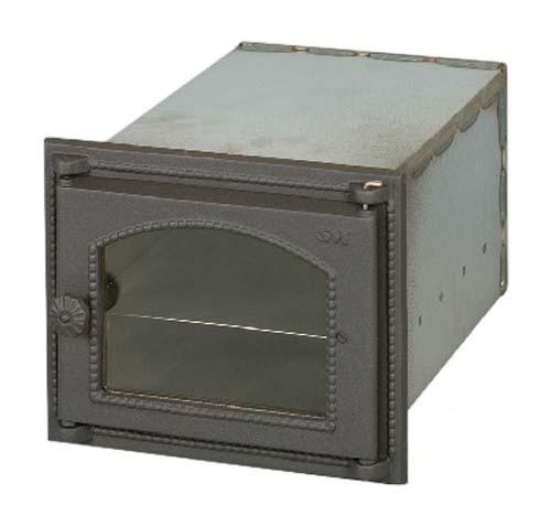 SVT 447 Духовка металлическая, застекленная с чугунной дверкой, протвинем