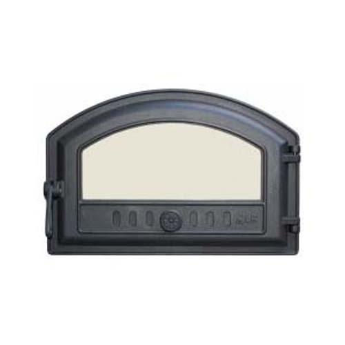 LK 324 Дверца топочная, чугунная, стекло