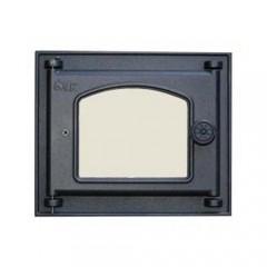 LK 351 Дверца топочная, чугунная, стекло