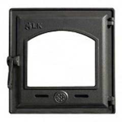 LK 370 Дверца топочная, чугунная, герметичная, стекло