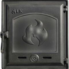 LK 371 Дверца топочная, чугунная, герметичная, глухая