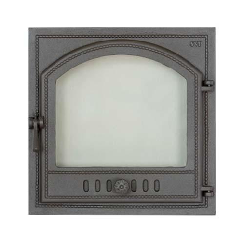 SVT 405 Каминная дверца со стеклом, герметичная
