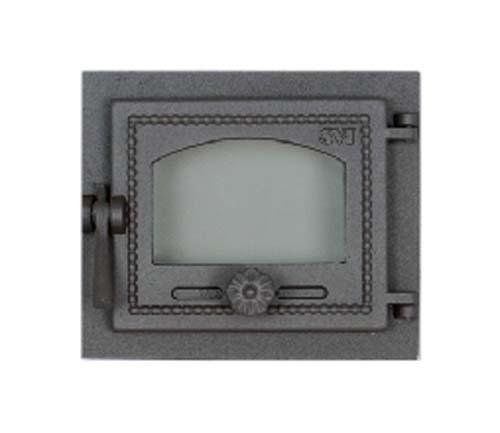 SVT 470 Печная дверца чугунная со стеклом, герметичная