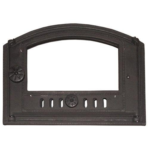 Дверка каминная со стеклом ДТК-С