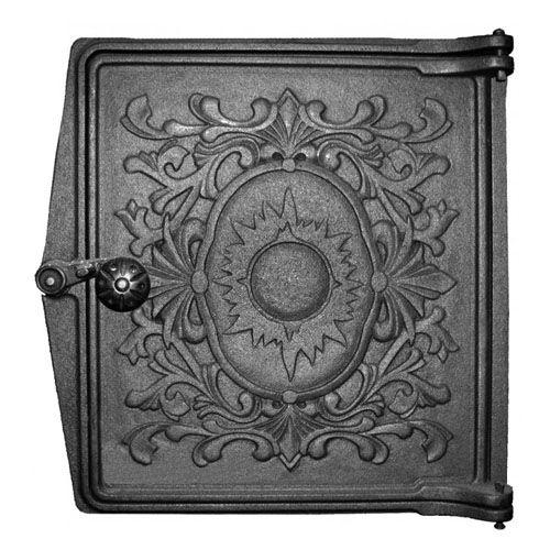 Дверка печная топочная чугунная ДТ-4 «Восход»