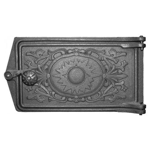 Дверка поддувальная чугунная ДП-2 «Восход»