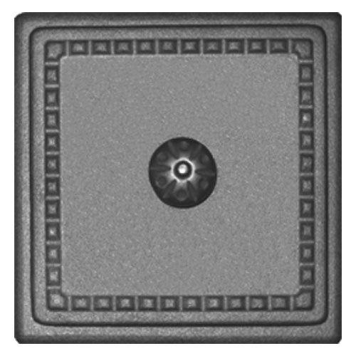 Дверка прочистная чугунная ДПр-4
