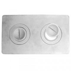 Плита 2-х конфорочная П2-1