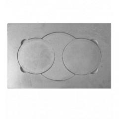 Плита печная чугунная П2-7Д