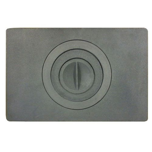 Плита печная, чугунная, однокомфорочная, П1-9