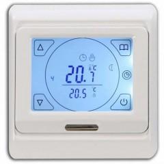 Программируемый терморегулятор ТД 91.716 с ЖК (сенсорным) экраном