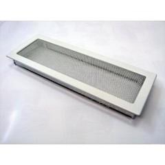 Вентиляционная решетка - 170х480 мм, белый, кремовый