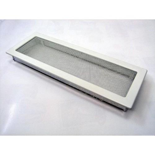 Вентиляционная решетка — 170х480 мм, белый, кремовый