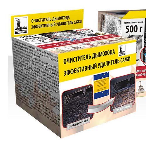 Очиститель дымохода (10 пакетиков по 50 гр)