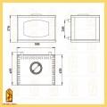 Модуль АКВА для печей Варта, Варта 3D схема