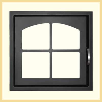 Дверь каминная ДК 555-1К
