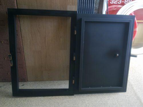 Дверь коптильни разворот