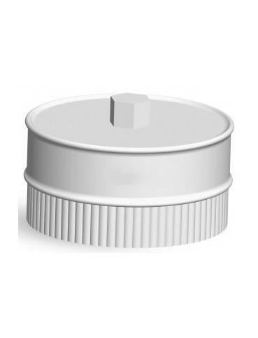 Заглушка с конденсатоотводом для дымохода СЭНДВИЧ