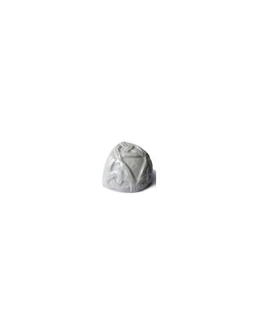 Элемент изразцовой плитки, чашка «Русь» белый