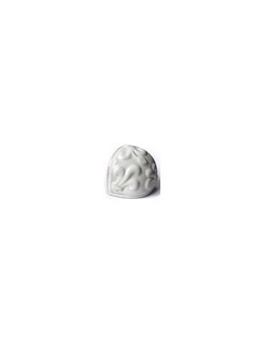 Элемент изразцовой плитки, чашка «Виньетки» белый