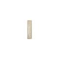 Элемент изразцовой плитки, полоска «Виньетки» слоновая кость