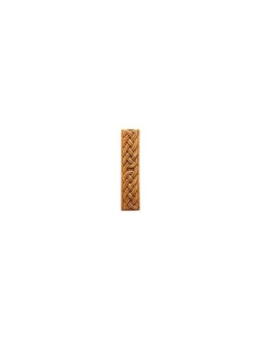 Элемент изразцовой плитки, полоска «Русь» бежевый