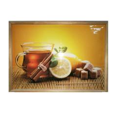 """Инфракрасная картина """"Чай с корицей"""""""