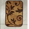 Греющий коврик, инфракрасный «Коричневые цветы»