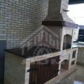 Барбекю с плитой и мраморной столешницей (1)