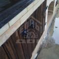 Барбекю с плитой и мраморной столешницей (5)