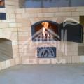 Угловое барбекю с коптильней, плитой под казан, разделочными столами и мойкой 0 (3)