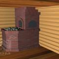 Банная печь с лежанкой (3)