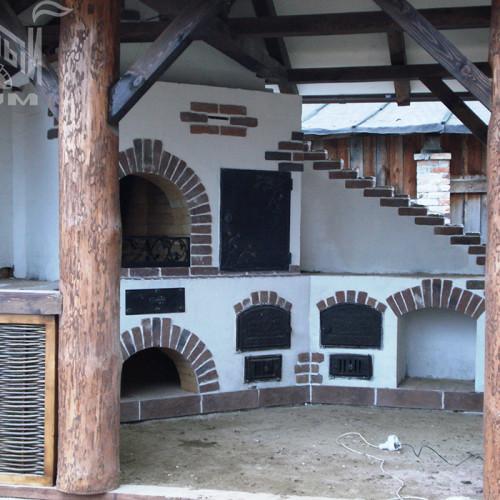 Несущие столбы баседки Мурзинка