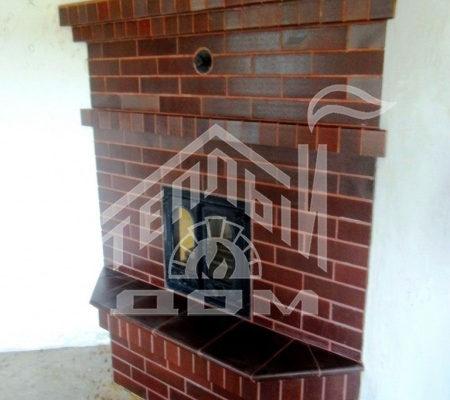 Строительство камина в Кадниково (2)