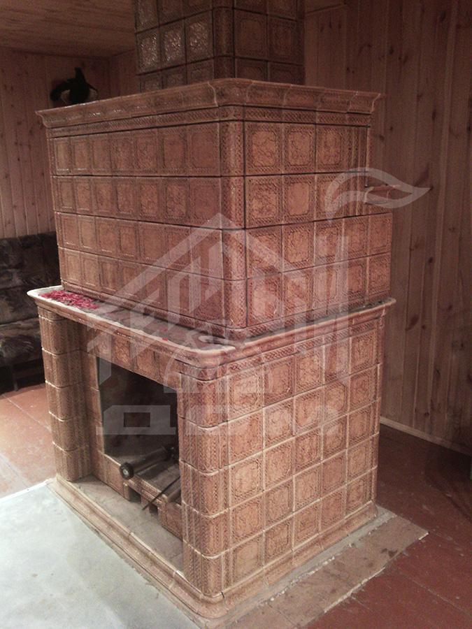 Строительство камина в Невьянске (1)