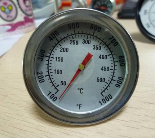 Термометр для духовки, барекю, коптильни, русской печи, нерж сталь