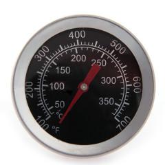 Термометр нерж 50-350гр, для духовки, барекю, коптильни, русской печи, нерж сталь(11)