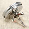 Термометр 50-500гр, для духовки, барекю, коптильни, русской печи, нерж сталь(1)