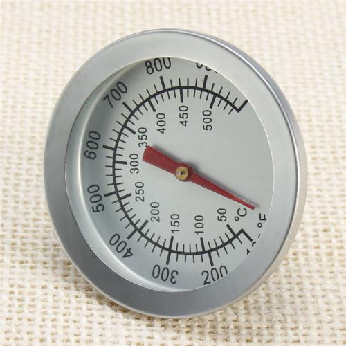Термометр 50-500гр, для духовки, барекю, коптильни, русской печи, нерж сталь(4)