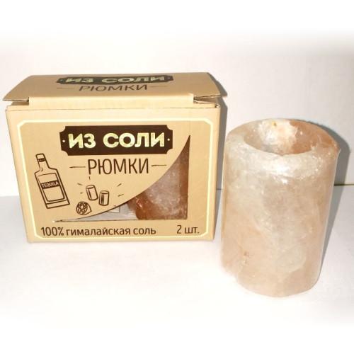 Набор рюмок из гималайской соли